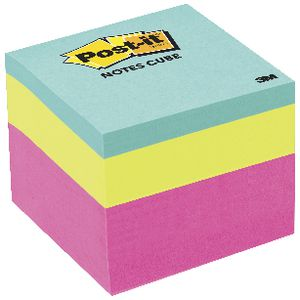 Post-it Notes Cube 48 x 48mm Pink Wave