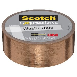 Scotch Expressions Foil Tape 15mm x 7m Copper