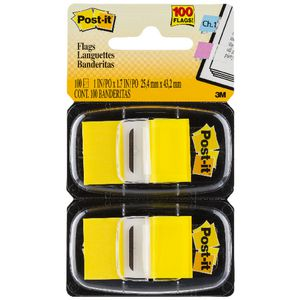 3M Post-it Flags Twin Pack Yellow