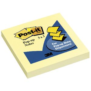 Post-it Pop-up Notes Refill Yellow