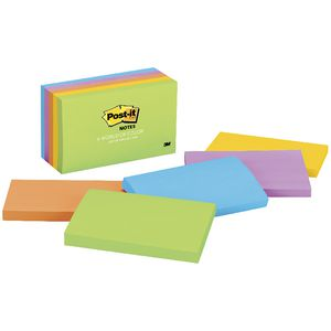 Post-it Notes 76 x 127mm Jaipur 5 Pack