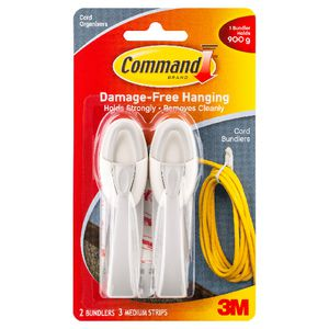 Command Cord Bundlers 2 Pack
