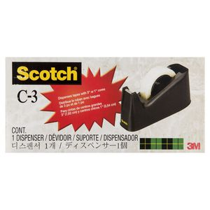 Scotch C3 Tape Dispenser Large Black