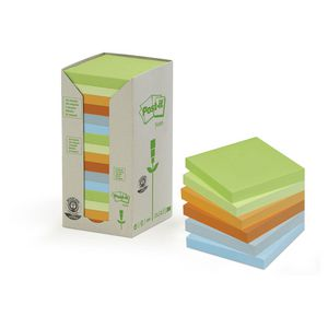 Post-it Recycled Notes Pastels 16 Pack