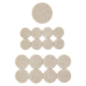 Scotch Felt Pads Beige 36 Pack