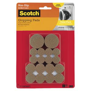 Scotch Soft Gripping Pads Brown 36 Pack