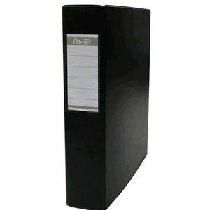 Bantex A4 3 D-Ring Binder 50mm Black