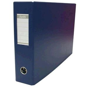 Bantex Binder A3 2 D-Ring 38mm Landscape PVC Blue