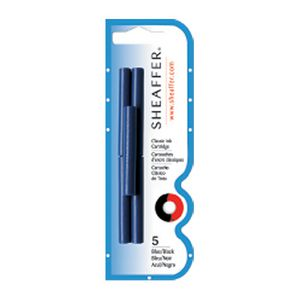 Sheaffer Fountain Pen Refill Cartridges Blue 5 Pack