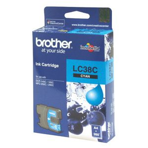 Brother LC-38 Cyan Ink