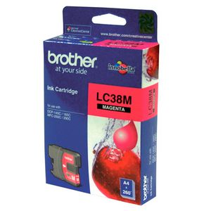 Brother LC-38 Ink Magenta