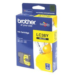 Brother LC-38 Ink Yellow