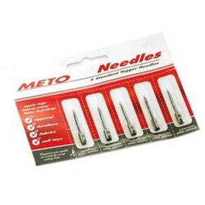 Meto Replacement Needles for Standard Pistol Tagger 5 Pack