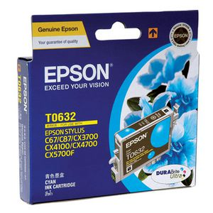 Epson Ink Cartridge Cyan T0632