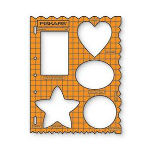 Fiskars Shape Template Assorted Shapes