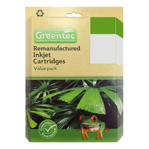 Greentec Brother LC-67 Black and Colour 4 Ink Value Pack