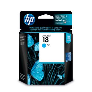 HP 18 Ink Cartridge Cyan