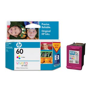 HP 60 Ink Cartridge Tri-Colour