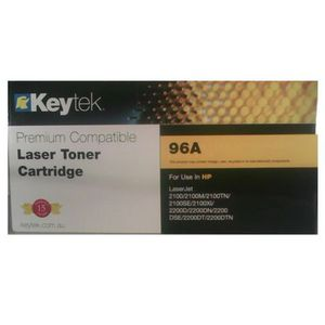 Keytek Alternate HP 96A Toner Cartridge Black