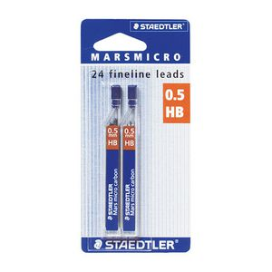 Staedtler Fineliner Lead Refills 0.5mm HB 24 Pack