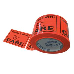 Stylus Printed Label Tape Handle With Care