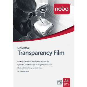 Nobo A4 Transparency Film 25 Pack
