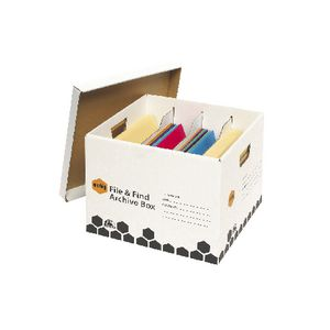 Marbig File & Find Archive Box 5 Pack