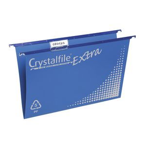 Crystalfile Extra Capacity Suspension File 20 Pack