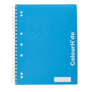ColourHide My Trusty A4 Lecture Book 200 Page Blue