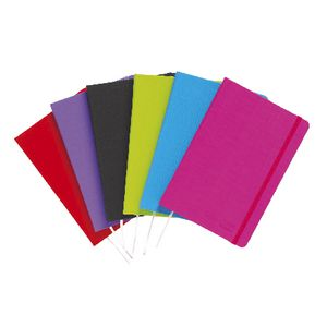 ColourHide A5 PE Linen Journal 192 Page Assorted
