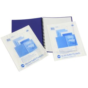 Marbig A4 Display Book Pocket Refill 10 Pack