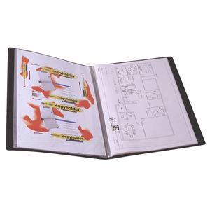 A3 20 Pocket Display Book Black