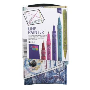 Derwent Graphik Line Painter Palette 3