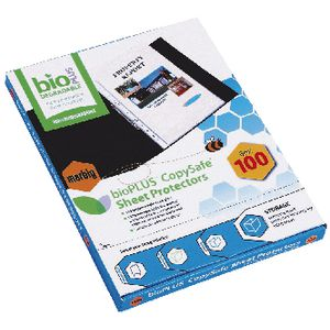 Marbig Sheet Protector A4 Biodegradable 100 Pack