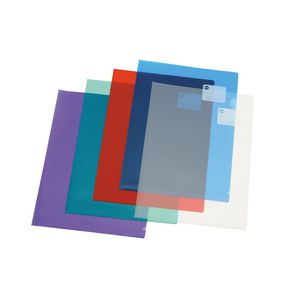 Marbig Letter File A4 Ultra Assorted Colours 10 Pack