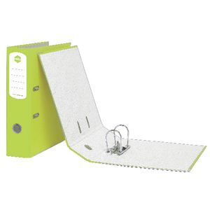 Marbig A4 Lever Arch File 2 Ring Lime