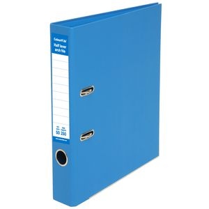 ColourHide Half Lever Arch File A4 2 Ring PE Blue