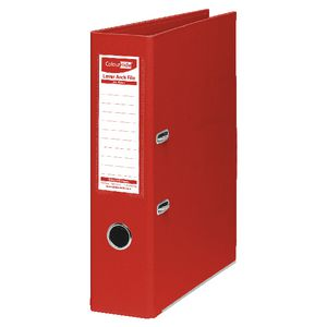 ColourHide Lever Arch Folder A4 2 Ring PE Red