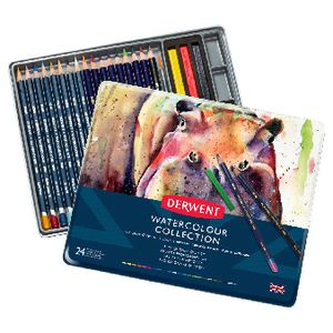 Derwent Watercolour Collection 24 Pack