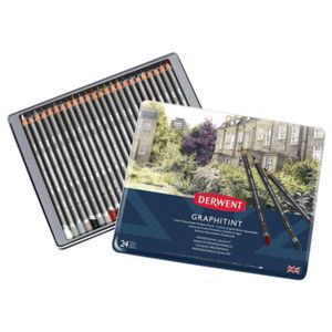 Derwent Graphitint Pencils 24 Pack