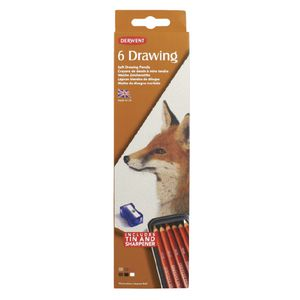 Derwent Drawing Tin 6 Pack