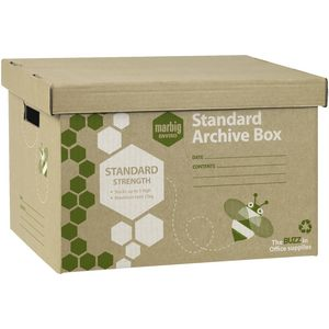 Marbig Enviro Archive Boxes 60 Pack