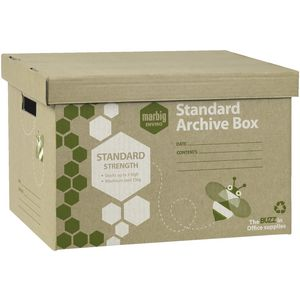 Marbig Enviro Archive Boxes 5 Pack