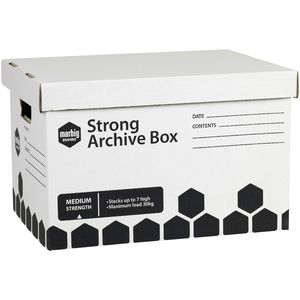 Marbig Strong Archive Box 3 Pack