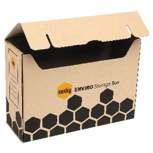 Marbig Enviro Flip Top Storage Box 2 Pack