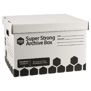 Marbig Super Strong Archive Boxes 2 Pack