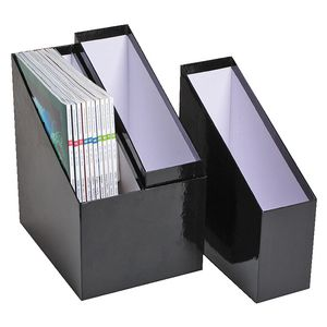 Marbig Simple Storage Magazine Holder 3 Pack