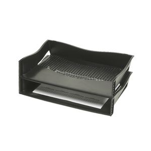 Marbig Plastic Document Tray Black