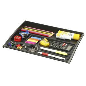 Marbig Plastic Desk Drawer Black