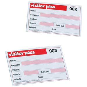 Rexel Visitors Book Refills 100 Pack